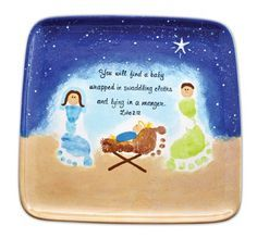 nativity handprint craft - Google Search