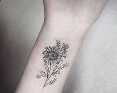 Daisy flower tat