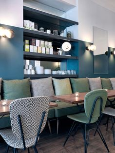 Café Pinson, Bar Design, Cafes Pinson, Restaurants Cafes, Interiors Design,
