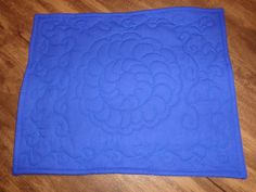 DeCoração Costura Artística: Azul da cor do mar