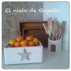 Caja estrella #elnietodegepetto