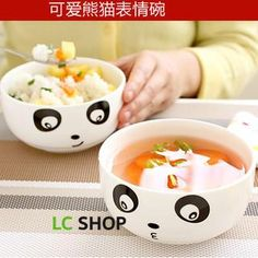 Buy 'Lazy Corner – Facial Expression Ceramic Food Bowl' with Free International Shipping at YesStyle.com.