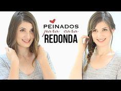 PEINADOS PARA CARA REDONDA | Cortes y peinados que adelgazan - YouTube