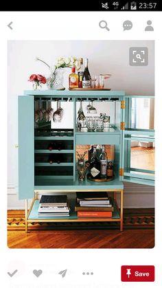 Alice's drinks cabinet