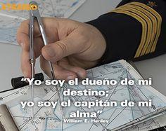 """""""Yo soy el dueño de mi destino, yo soy el capitán de mi alma"""" #xtrared #frasedeldía"""
