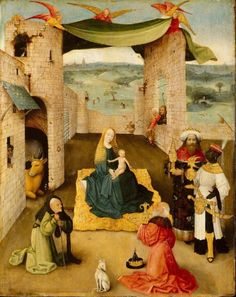 Hieronymus Bosch The adoration of the magi