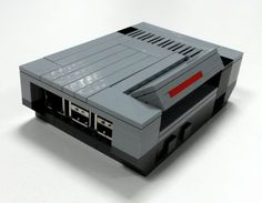 This $35 Raspberry Pi case is made from LEGO to look like a Nintendo NES. Must have!