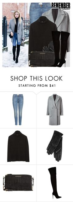 """""""2147. Blogger Style: Make Life Easier"""" by chocolatepumma ❤ liked on Polyvore featuring Oris, J.A.K., Current/Elliott, MSGM, The Row, ILI, Burberry, Gianvito Rossi, women's clothing and women's fashion"""
