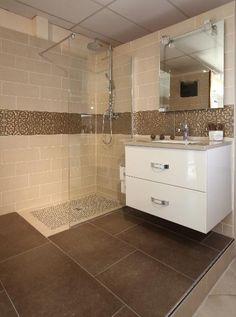 Annexe douche l 39 italienne salle de bain pinterest for Rangement douche italienne