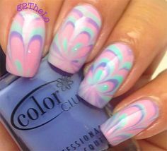 15 Best Without Water Marble Nails Art Images On Pinterest Water
