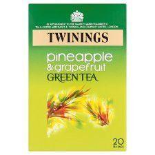 Twinings Green Tea&Pineapple 20'S 40g