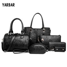 51.76$  Watch here - http://aliyou.worldwells.pw/go.php?t=32738963928 - New Famous Brand Designer Women Handbags Set Printed Flower Evening Party bags leather handbag Messger Bag Office Shopping bags
