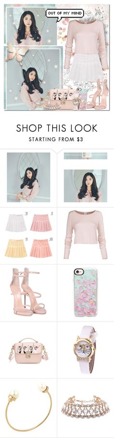 """""""Classic Pastel // Rosegal"""" by angelstylee ❤ liked on Polyvore featuring chuu, Giuseppe Zanotti and Casetify"""