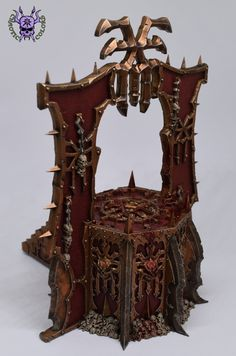 Skull Altar (Blades of Khorne) #ChaoticColors #commissionpainting #paintingcommission #painting #miniatures #paintingminiatures #wargaming #Miniaturepainting #Tabletopgames #Wargaming #Scalemodel #Miniatures #art #creative #hobby #dungeonsanddragons #dnd #frostgrave #rpg #roleplay #paintingwarhammer #warhammer #wh #gamesworkshop #gw #ageofsigmar #aos #sigmar #whfb #fantasy #warhammerfantasy #Kingsofwar #kow #kingsofwarvanguard #Chaos #Khorne #Bladesofkhorne #Khornedaemon #BleedingIcon Warhammer Fantasy, Warhammer 40k, Age Of Sigmar, Tabletop Games, Dungeons And Dragons, Altar, Miniatures, Skull, Creative
