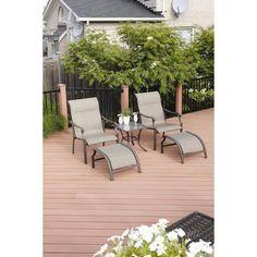Patio Conversation Set Outdoor Furniture Bistro Dining Sets Garden Chair Leisure #Unbranded