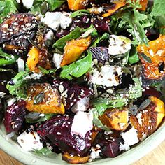 I should make this for my daughter's lunch. Lush winter salad | Food24