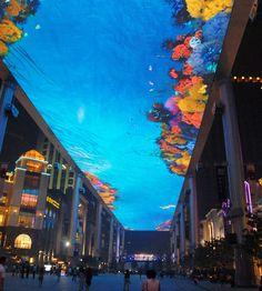 Sky screen at Bejing