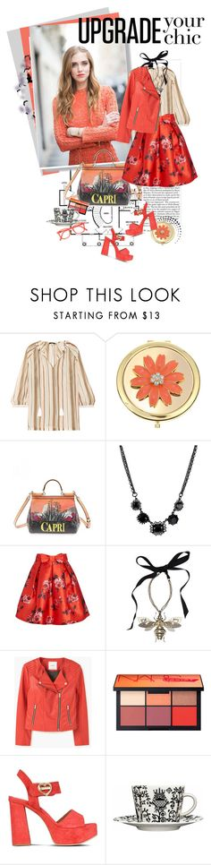 UPGRADE YOUR CHIC by k-hearts-a on Polyvore featuring Raoul, MANGO, Joanie, Love Moschino, Dolce&Gabbana, Lanvin, Betsey Johnson, NARS Cosmetics, Liz Claiborne and iittala