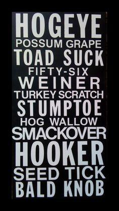 Arkansas towns, too funny!