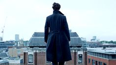 Oh whoa! I did not expect that! Check out another version of this GIF in which Sherlock literally just flaps his arms and flies away after he falls. It's hilarious.