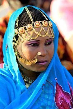 SUDANESE BRIDE #wedding #dress #bride http://www.illusionbridals.com/