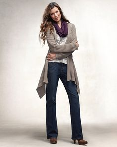 open knit cardigan  coldwater creek 51.99 free s/h