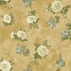 York NV6085 Baton Rouge Vintage Rose Wallpaper