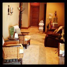 Inside our Spa Lobby