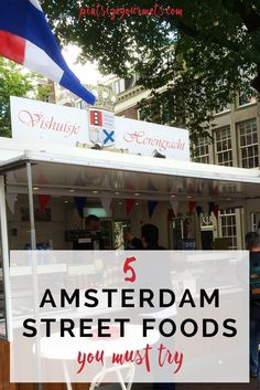 street food to eat in Amsterdam