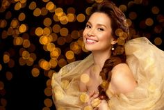 Lea Salonga:  singing voice of Princess Jasmine and Mulan...Eponine on Broadway...so much more!  Love her!