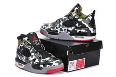 finest selection ad0fb e7e69 Hot Discount Nike Air Jordan 4 Retro Men Shoes Green on Sale