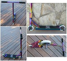 DIS Slick Custom Pro Complete Scooter Professionally Assembled ** More info could be found at the image url. This is an Amazon Affiliate links.