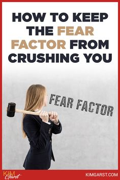 As an entrepreneur, the fear factor can be very real. Six ways to keep the fear factor from crushing you. Fear Factor, Factors, Entrepreneur, Crushes, Motivation, Organization, Marketing, Business, Inspiration