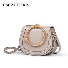 LACATTURA Luxury Handbag Women Leather Shoulder Bag Small Wristlets Saddle Messenger Bags Lady Clutch Crossbody Bag for Girls-in Shoulder Bags from Luggage & Bags on Aliexpress.com | Alibaba Group