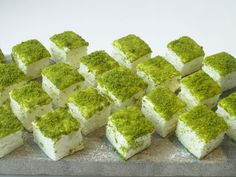 Orange and pistachio marshmallows from Ottolenghi.