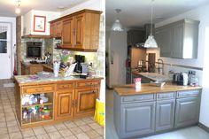 Une cuisine rénovée : du beau avec de l'ancien