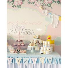 New baby born theme party by finaltouch_qa