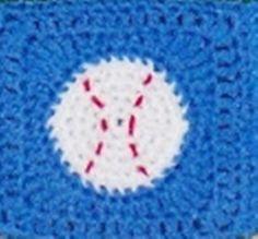 6 Baseball Square Crochet Pattern PDF by creeksendinc on Etsy, $1.49