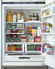 Organizing tips for your fridge during the holidays. Refrigerator accessories like turntables can also really help.