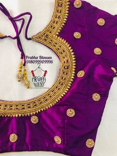 Wedding Saree Blouse Designs, Pattu Saree Blouse Designs, Blouse Designs Silk, Designer Blouse Patterns, Aari Embroidery, Embroidery Works, Mirror Work Blouse Design, Simple Blouse Designs, Boutiques