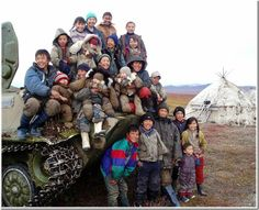 Chukchi People . Siberia