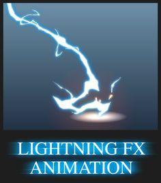 Lightning FX Animation by AlexRedfish.deviantart.com on @deviantART