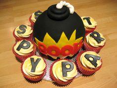 spy cake | Spy Party Bomb Cake..!!