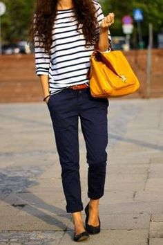 Nautical + Yellow...something about this color combo that I loooove