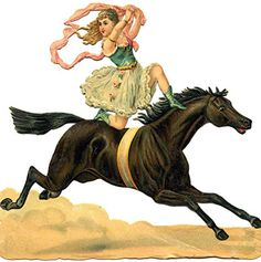 Cushion cover throw pillow case 18 inch girl ride circus horse stage show perform funny both sides image zipper giftshop88 http://www.amazon.com/dp/B013D743U4/ref=cm_sw_r_pi_dp_pAaiwb10GAXWT