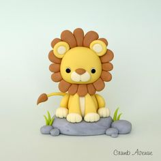 Lion Cake Topper by Crumb Avenue