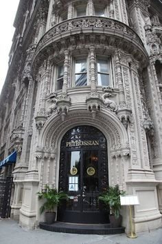 Petrossian...my favorite building in NYC