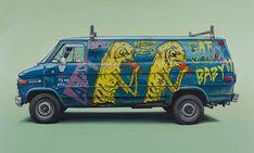 Graffiti Vans: Kevin Cyr