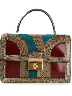 Shop Dolce & Gabbana 'Crespo' satchel in Stefania Mode from the world's best independent boutiques at farfetch.com. Over 1000 designers from 60 boutiques in one website.