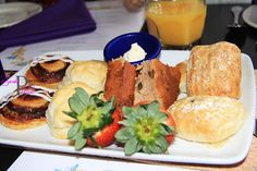 Pastries from Cinderella's Royal Table breakfast